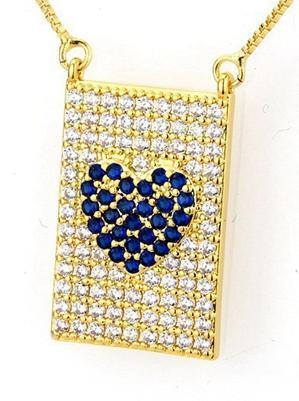 cuore blu 50 cm.