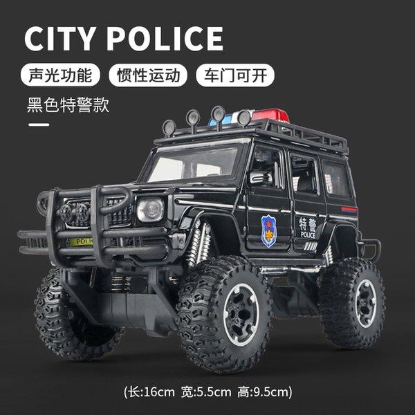 Quattro Ruote Rullaggio Vehicl Polizia Speciale