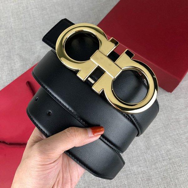 best selling men designers belts womens mens belts Fashion casual business metal buckle leather belt belt for man woman belt width 3.4cm with box