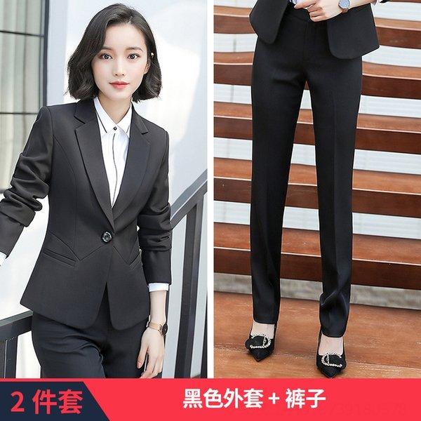 Pantaloni in cappotto nero.