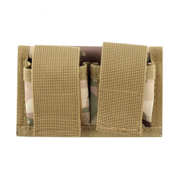 best selling nylon 800D Outdoor tactical hunting revolver clip Hunting Double Speed Loader Belt Pouch