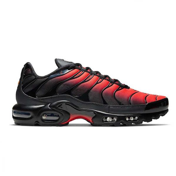 B7 40-46 Gradiente negro rojo