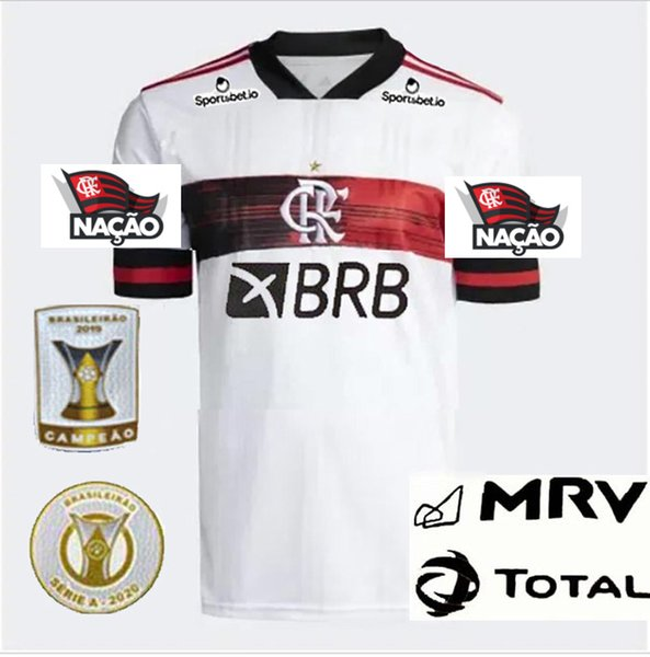 2020 Away+Sponsors+Série A Patches