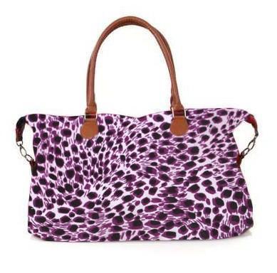 leopard print purple