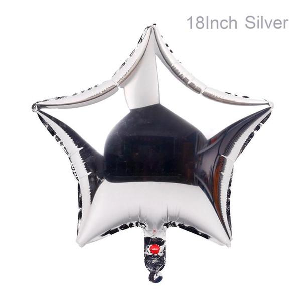نجمة الفضة محفظة 5pcs