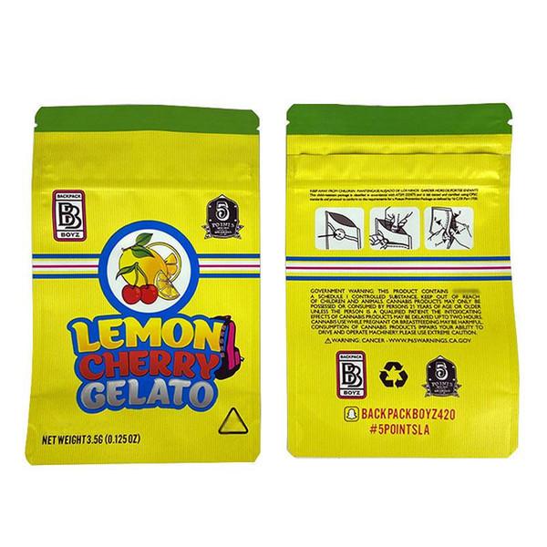 Limón cereza Gelato