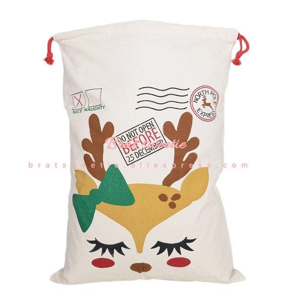 Elk Drawstring Bag