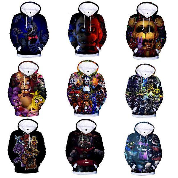 best selling Fashion Shrek kids Five Nights at Freddy 3D Hoodies Kids Shrek Shirt Funny Hoodie Hip Hop Streetwear 3D Print Sweatshirts hoodie Plus Size