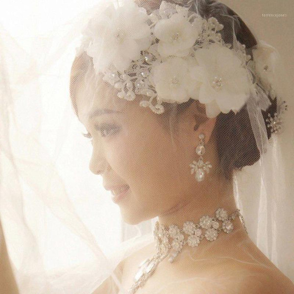 top popular hot sale bridal Hairbands Crystal Headbands women Hair Jewelry Wedding accessories crystal Tiaras And Crowns Head Chain 2331 2021