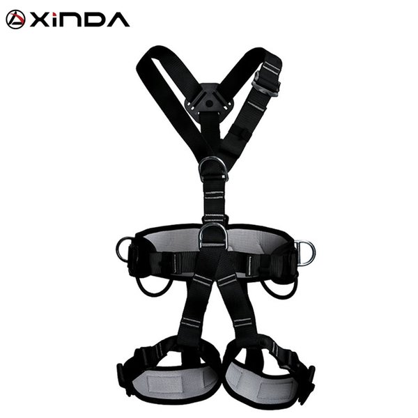 best selling XINDA Top Quality Outdoor Harnesses Rock Climbing High Altitude Protection Full Body Safety Belt Anti Fall Protective Equipment Q1118