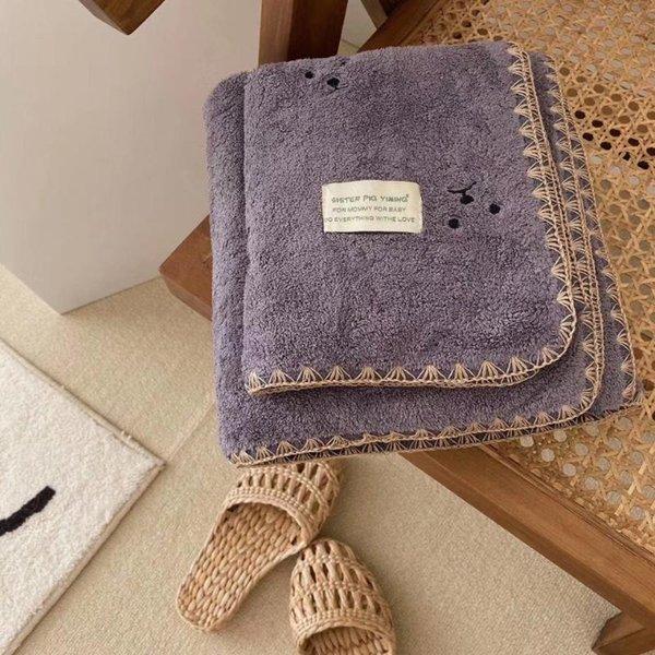 Toalla de toalla de baño