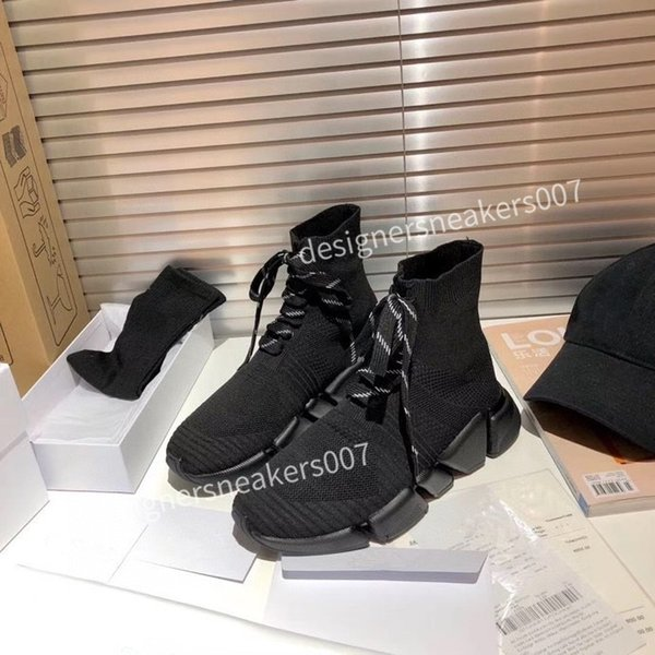 new Womans platform Running Shoes Triple Black White Sports Skateboarding High Low Cut Flax Mens Trainers Sneakers fz201003