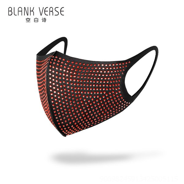 Diamante vermelho com fundo preto # 50393