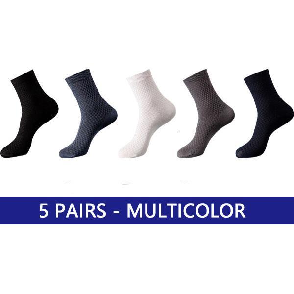 5 Paare Multicolor.