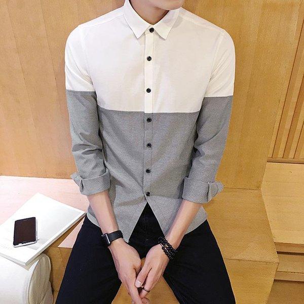 Camicia grigia Oxford.