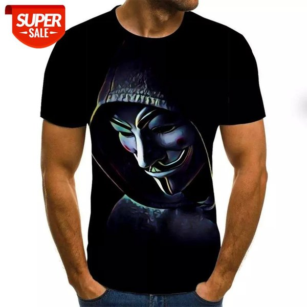 best selling Horror Movie It Penny Wise Clown Joker 3D Print Tshirt Men Women Hip Hop Streetwear Tee T shirt 90s Boys Cool Clothes Man Tops #N93N