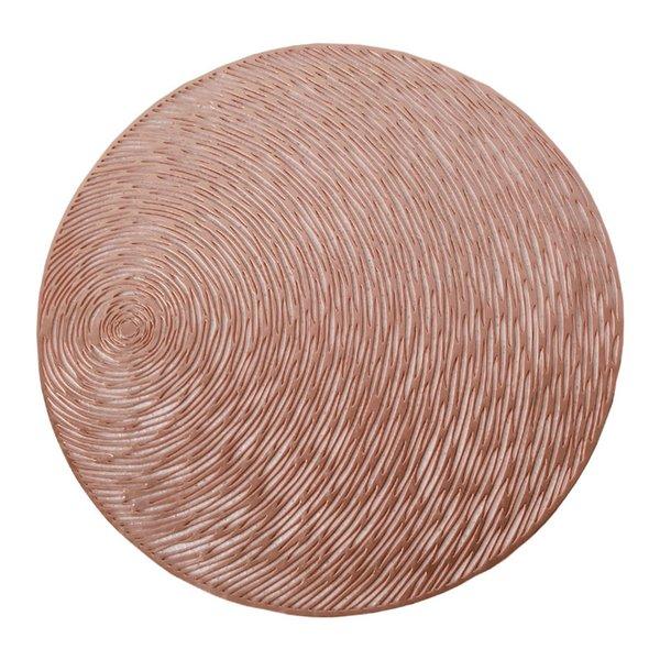 Rose Gold-Runde-38,5 cm