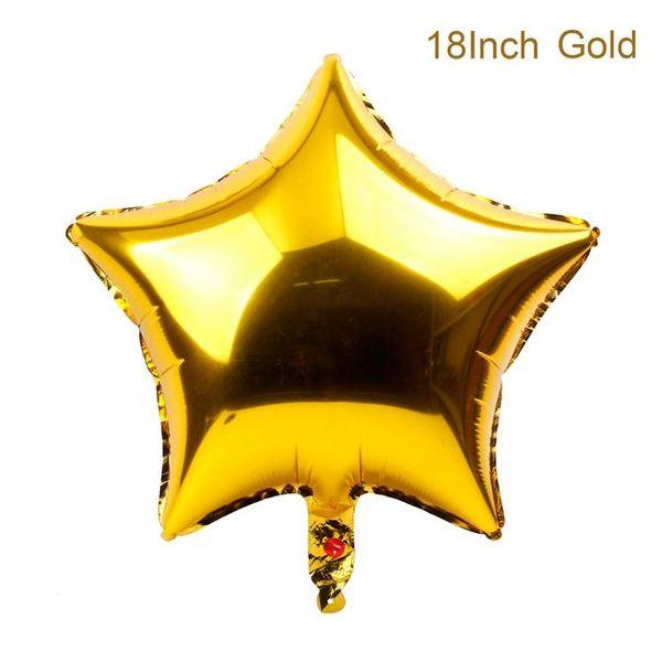 نجمة ذهبية محفظة 5pcs