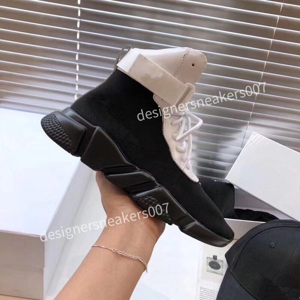 2021the new Women platform Running Shoes Triple Black White Sports Skateboarding High Low Cut Flax Mens Trainers Sneakers fz191010