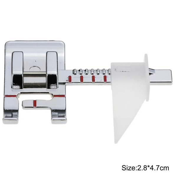 2.8*4.7*0.8CM Silver Steel Adjustable Guide Sewing Machine Accessories For Presser Foot Sewing Rule Feet Foot Presser Sewing Tools & Accessory Home & Garden Cheap Sewing Tools & Accessory.We offer the best wholesale price, quality guarantee, professional e-business service and fast shipping . You will be satisfied with the shopping experience in our store. Look for long term businss with you.