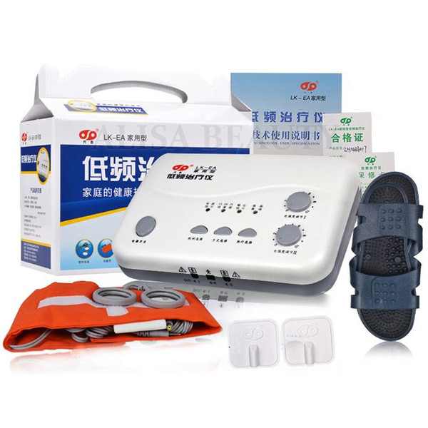 top popular Liuhe LK-EA cervical and lumbar multi-functional low-frequency acupuncture treatment instrument Electroacupuncture massager 2021