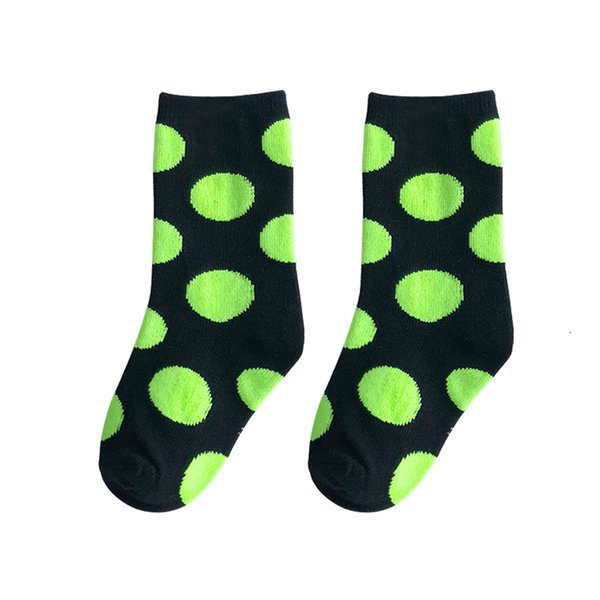 Black And Green Dots