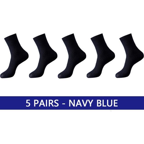 5 Paar blauer Name