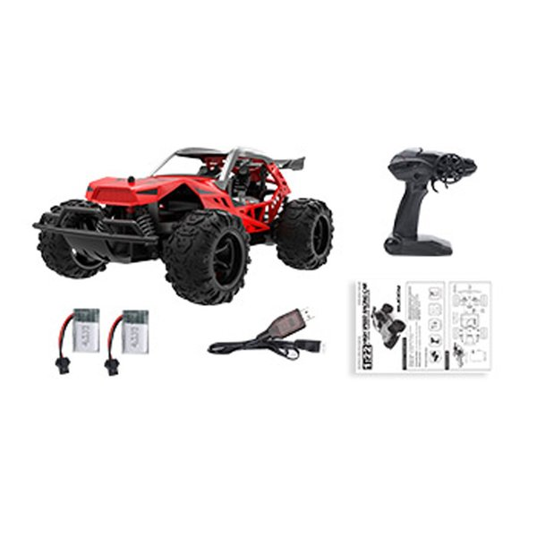 Red Rc Truck