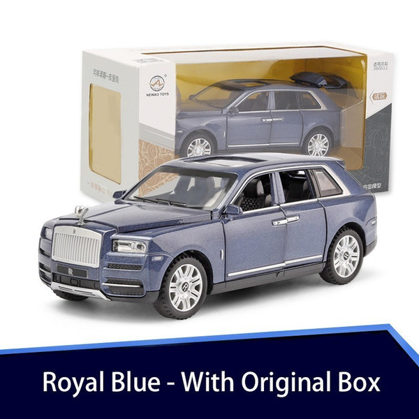Royal Blue Box avec