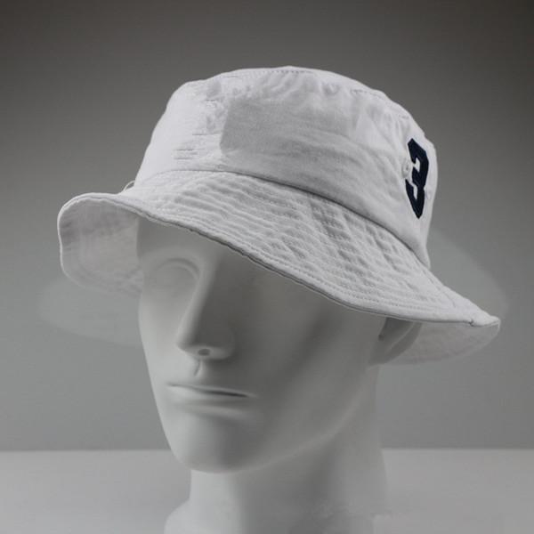 Weiß + navy blaues logo