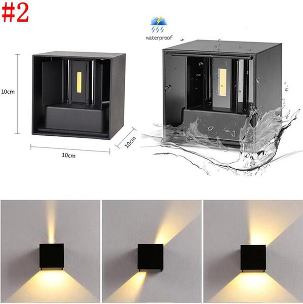 # 2 12W Водонепроницаемый настенный светильник