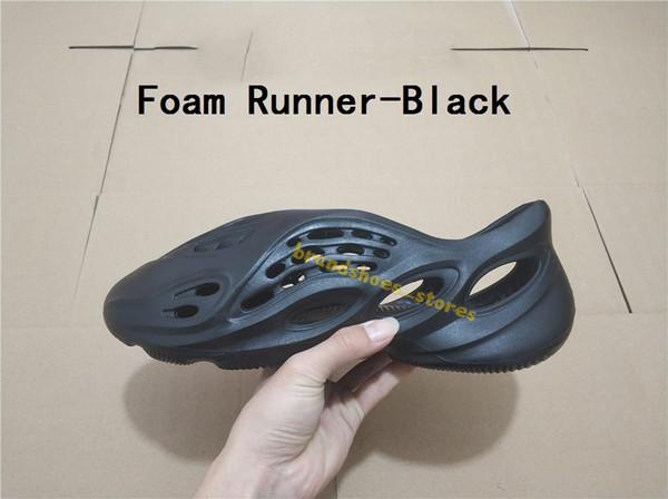 Köpük koşucu-siyah