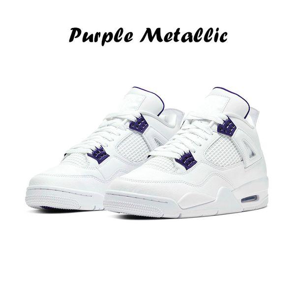 12 violet métallique