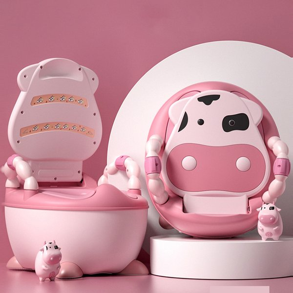 top popular Portable Baby Potty Multifunction Baby Toilet Car Potty Child Pot Training Girls Boy Potty Kids Chair Toilet Seat Children's Pot LJ201110 2021