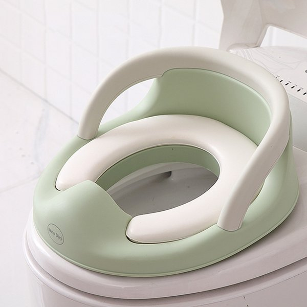 top popular 1- Old Children's Toilet Seat Infant Toilet Training Folding Seat Baby Diapers And Toilet Training LJ201110 2021