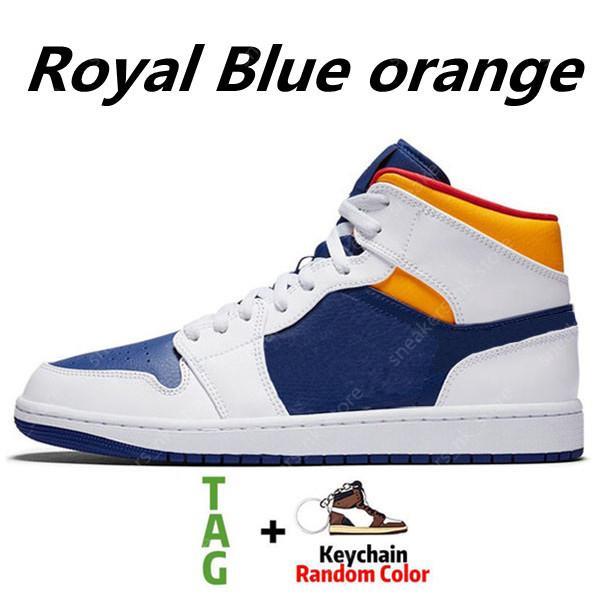 Royal Blue Laser Orange