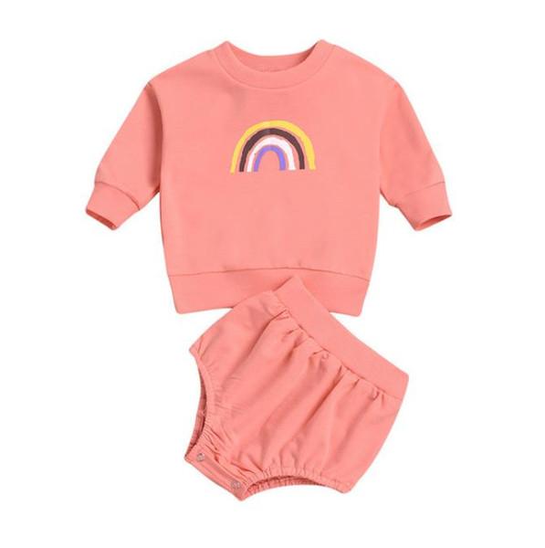 Set de ropa de bebé # 2 arco iris