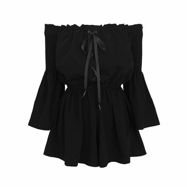 negro Playsuit