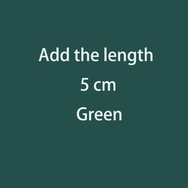 Adicione o comprimento 5cm
