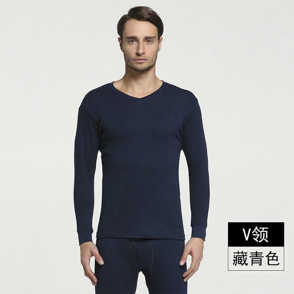 V- Navy Blue