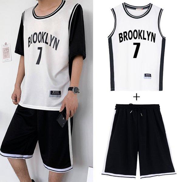 2006 terno branco No.7 (colete + shorts)