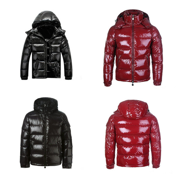 top popular 2021 Mens Winter Down Jacket Puffer Jacket Hooded Thick Coat Jacket Men High Quality Down Jackets Men Women Couples Parka Winter Coat 2021