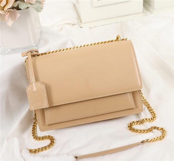 best selling Zuolan Sunset Bag Classic Latest Color Women Shoulder Bag Chain Bag Toothpick Pattern Leather Womens Cross Body Handbag 442906