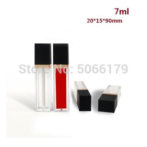 Tapa negra de tubo claro