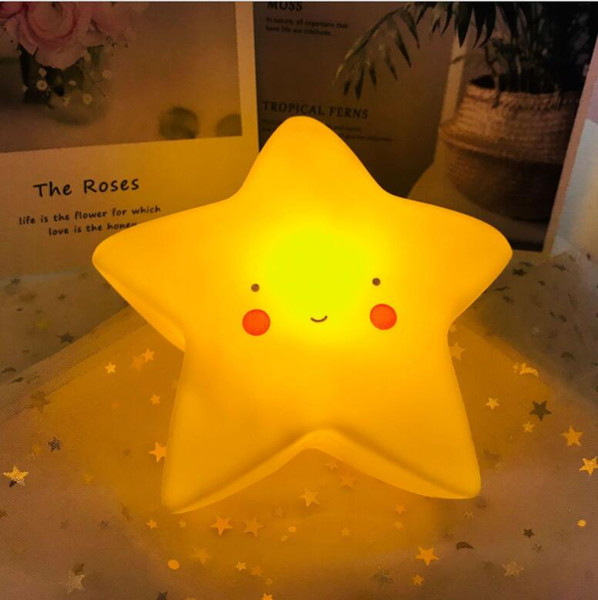 top popular Luminous doll holders bedroom table lamp bedside night light children's room art decoration household wall toy gift 2021