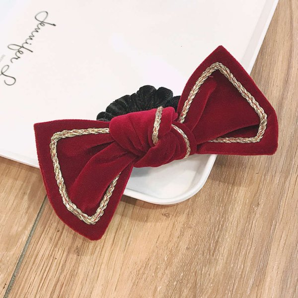 045 ᦇ Círculo de Cabelo Círculo Vermelho