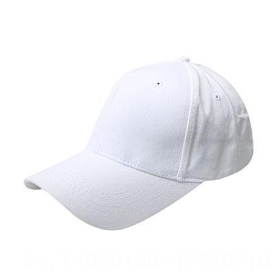 Cápsula de béisbol de cola de caballo - blanco