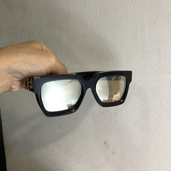 black gold with golden mirror lens