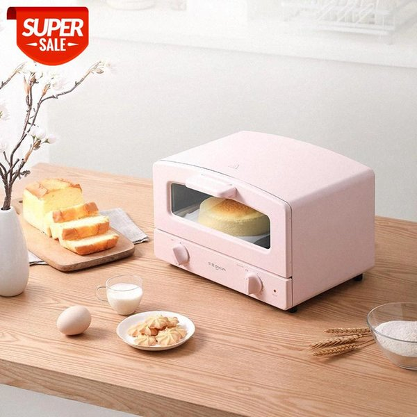 top popular 220V 12L Mini Household Electric Oven Automatic Bread Cake Baking Oven Multifunctional Food #y20P 2021