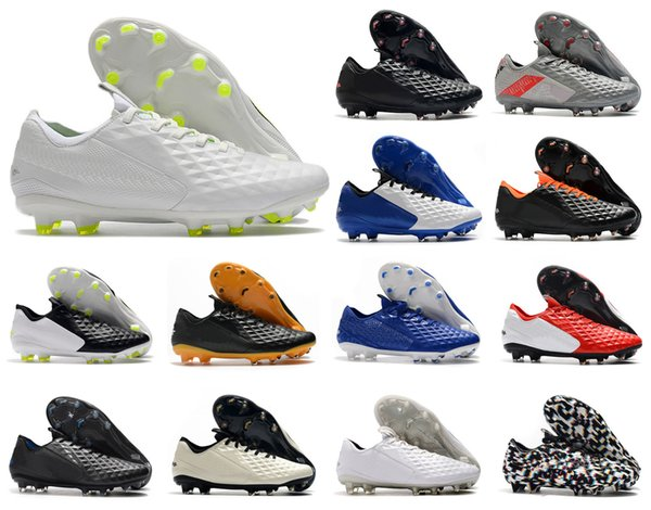 best selling 2020 Hot Tiempo Legend VIII 8 Elite FG Daybreak neighborhood 8S Mens Low Ankle Soccer Shoes Football Boots Cleats US6.5-11
